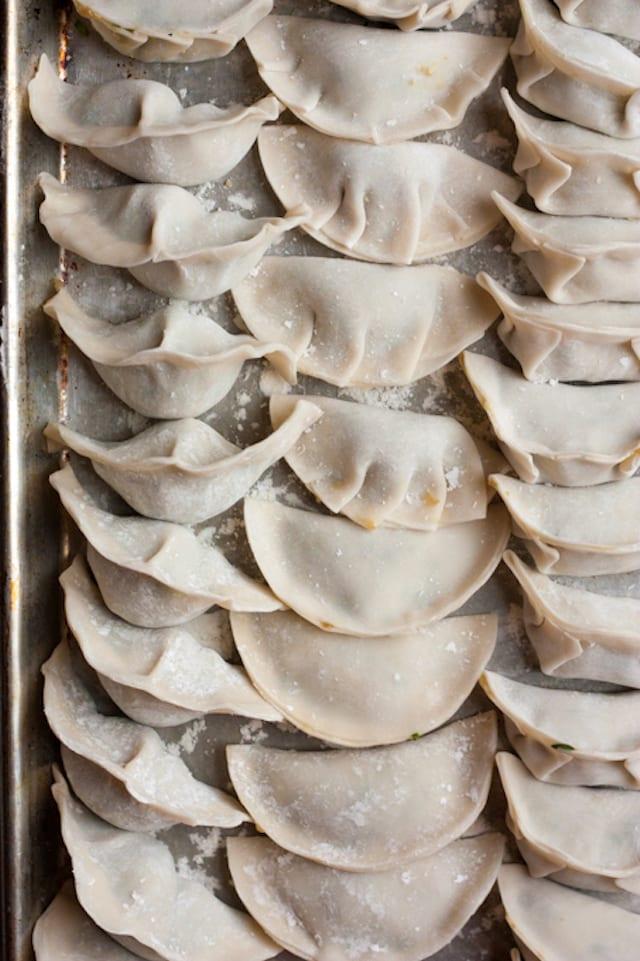 Cabbage and Pork Dumplings