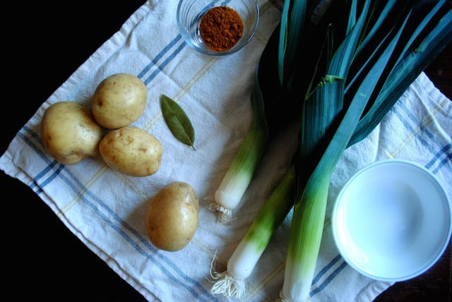 Leek and Curry Potato Soup2
