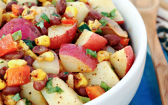 Easy Southwest Potato Salad