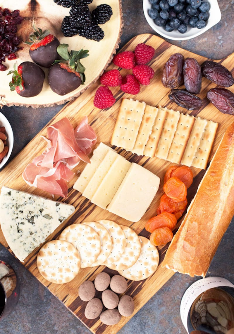 Sweet And Salty Valentine S Day Cheese Board