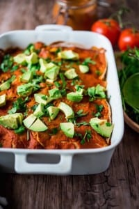 Enchilada-Casserole-with-2-Minute-Enchilada-Sauce