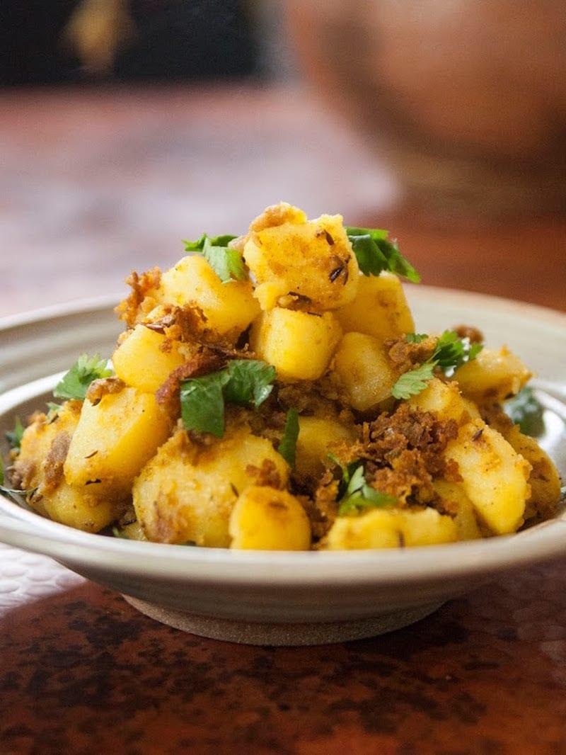 Masala Aloo Potatoes
