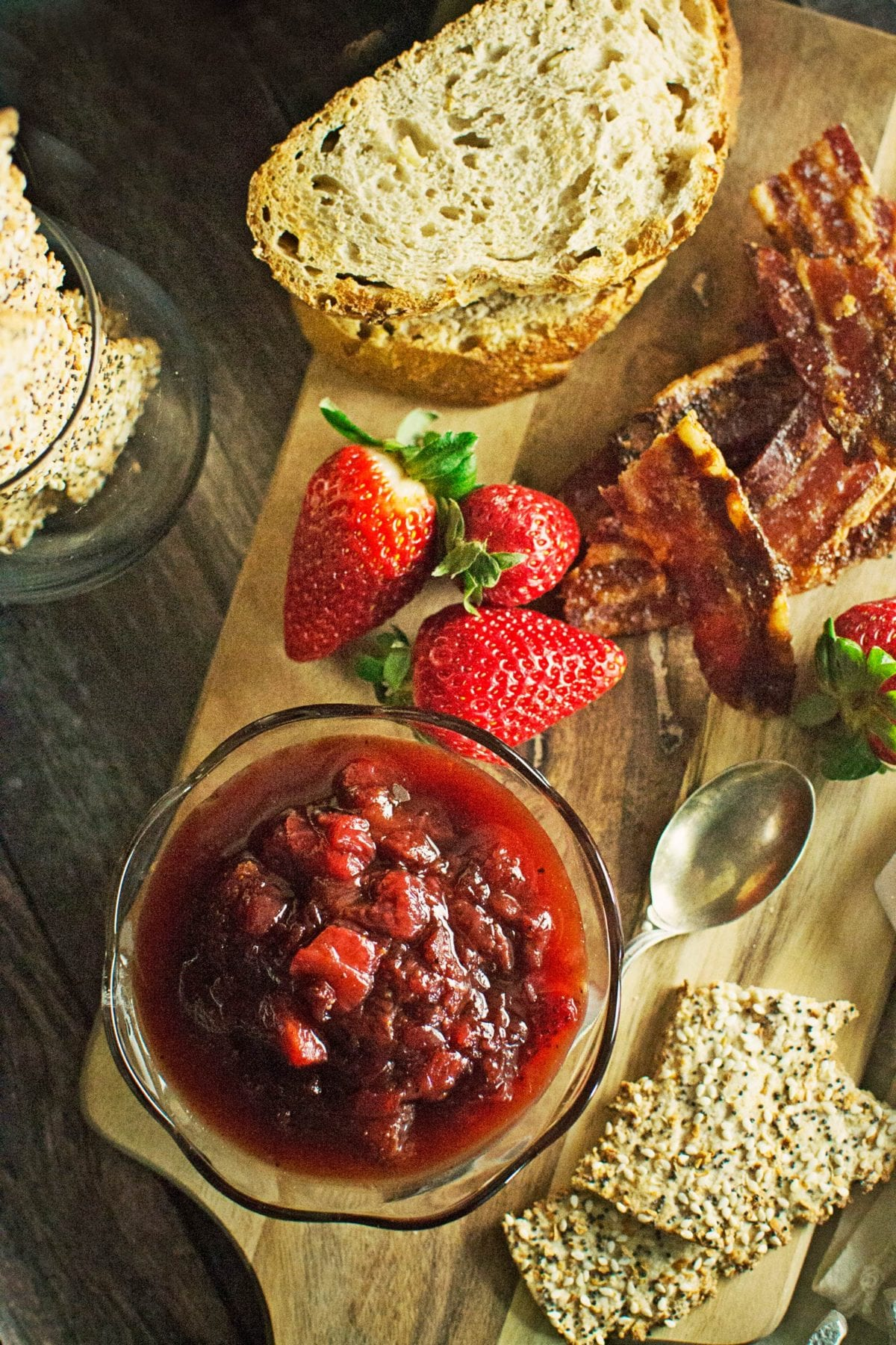 The Ultimate Strawberry Black Pepper Jam Cheese Board