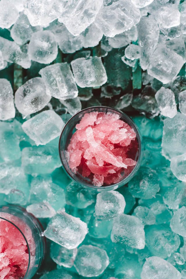The Shaved Ice Cosmopolitan
