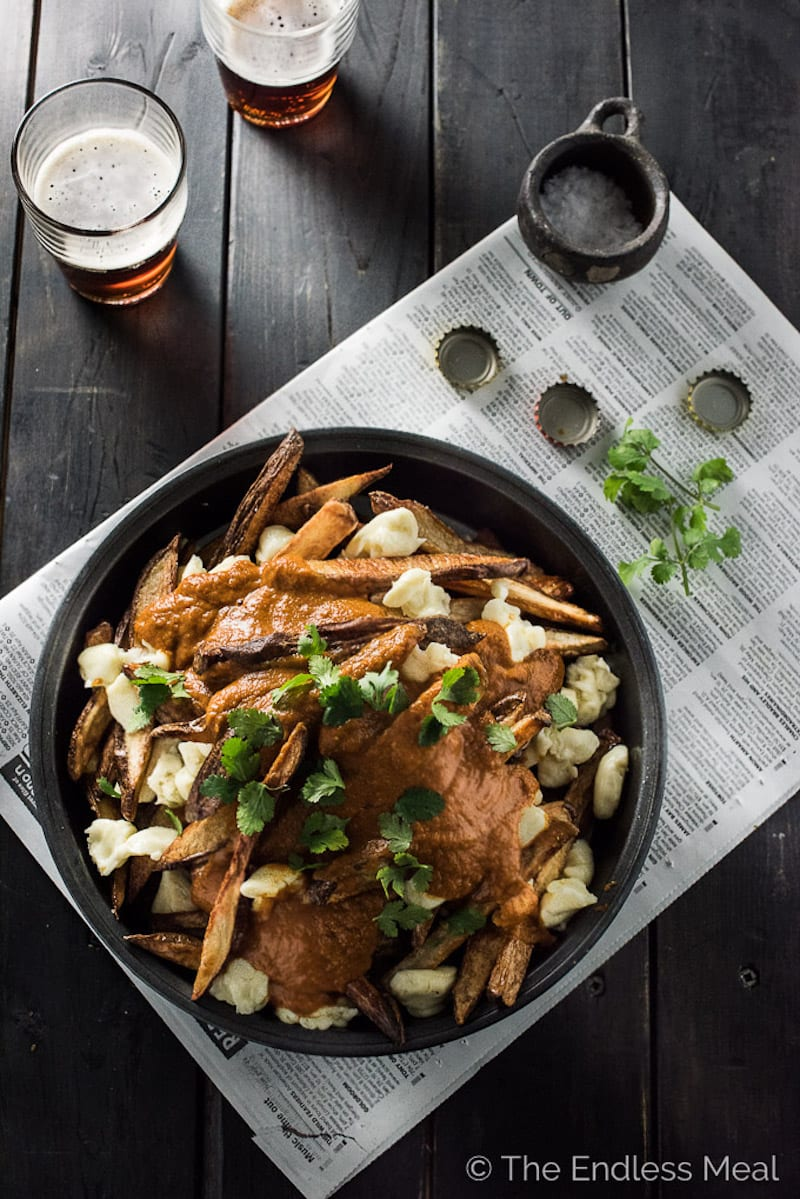 Butter Chicken Gravy Poutine