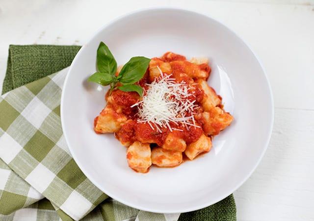 Sausage Filled Potato Gnocchi