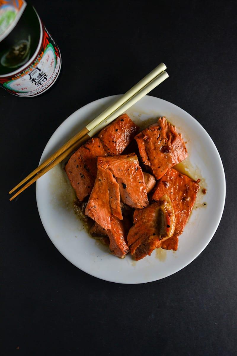 Homemade Teriyaki Salmon