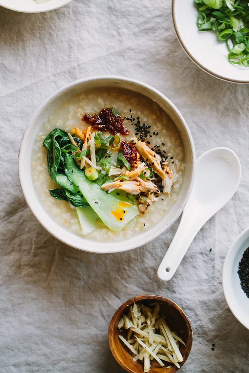 Ginger Chicken Congee