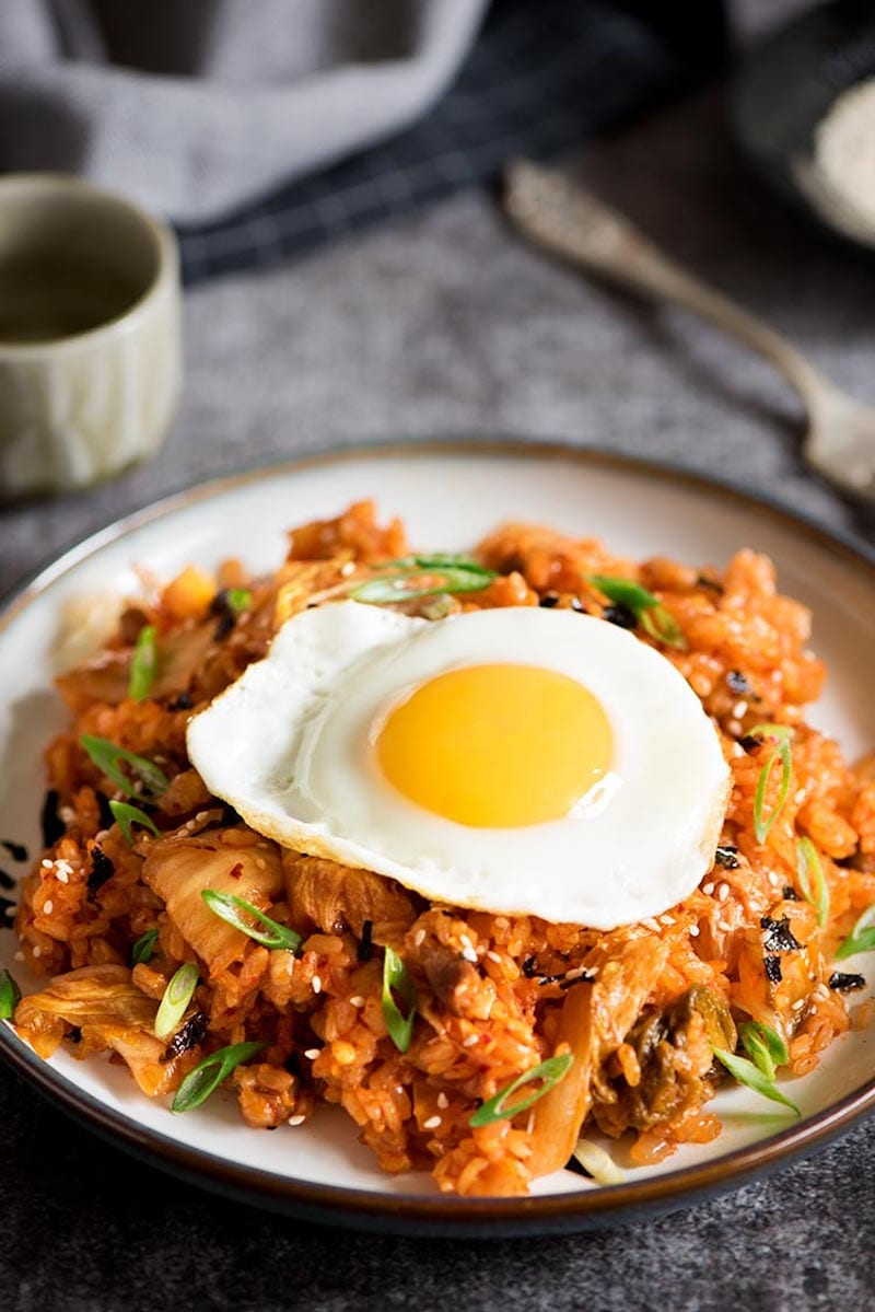 Kimchi and Pork Belly Fried Rice