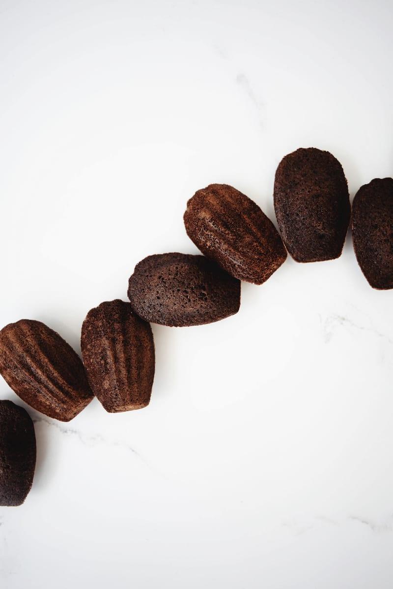 Chocolate Mocha Madeleines
