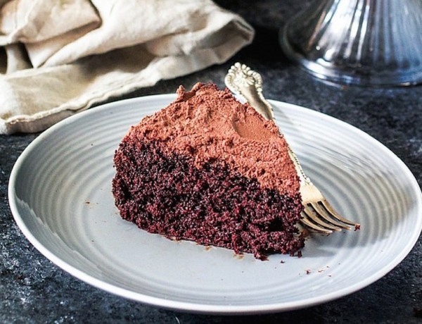 Rich Guinness Chocolate Cake