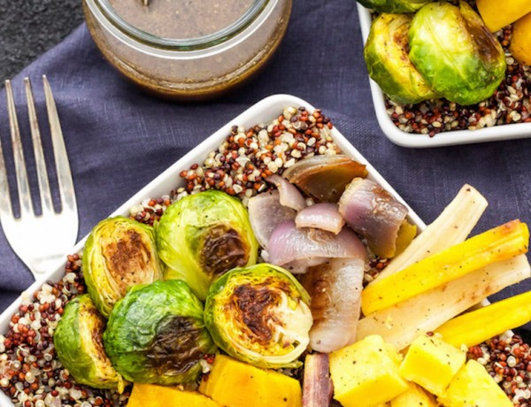 Roasted-Vegetable-Quinoa-Bowls