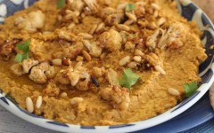 Roasted-cauli-Dip-with-White-Beans