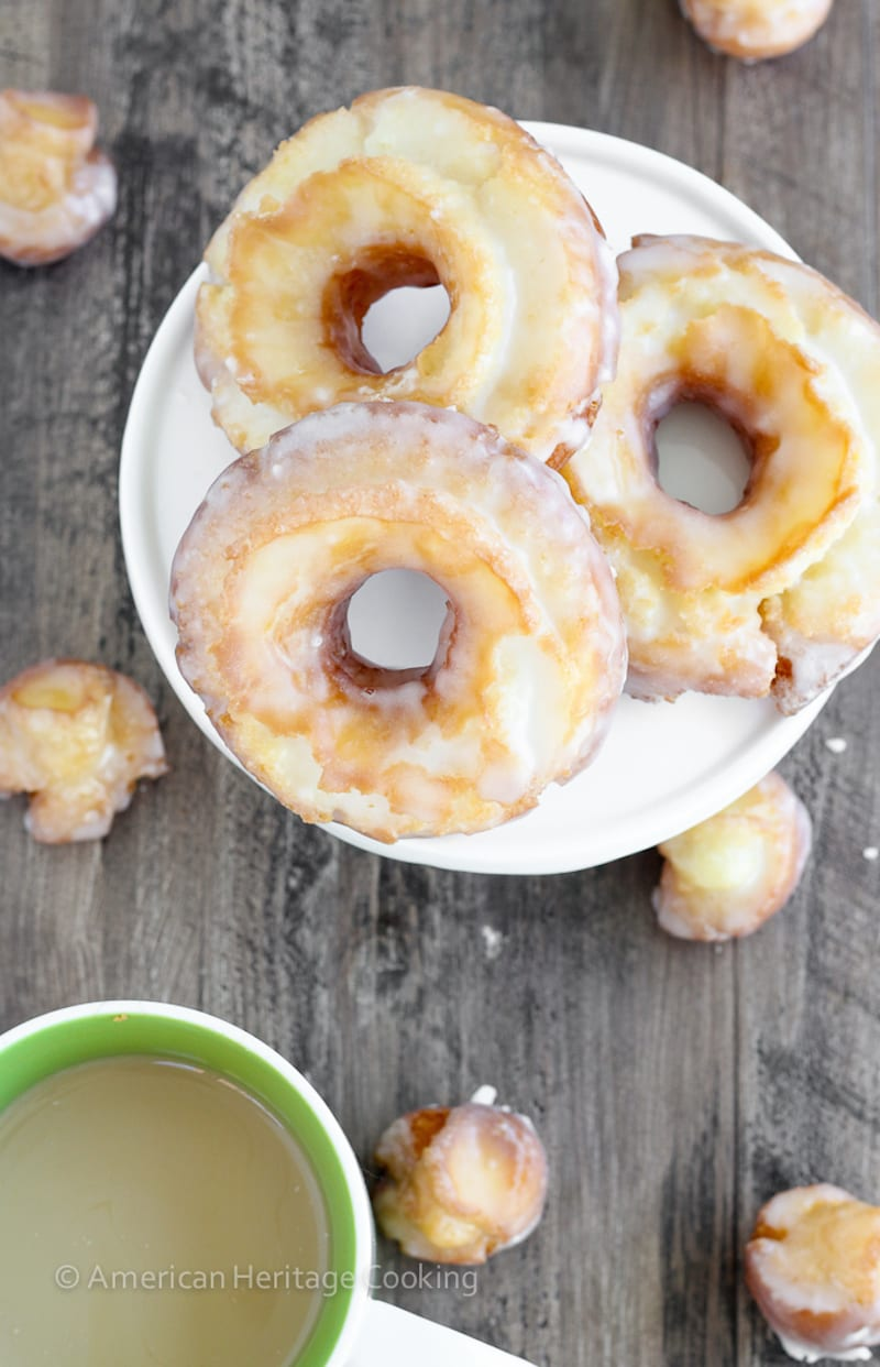Cake Mix Sour Cream Donuts