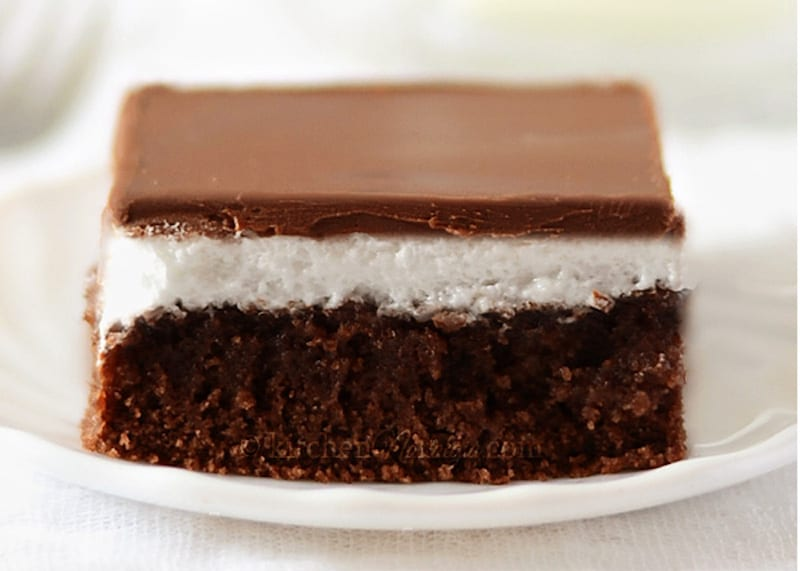 Soft Chocolate Marshmallow Cake