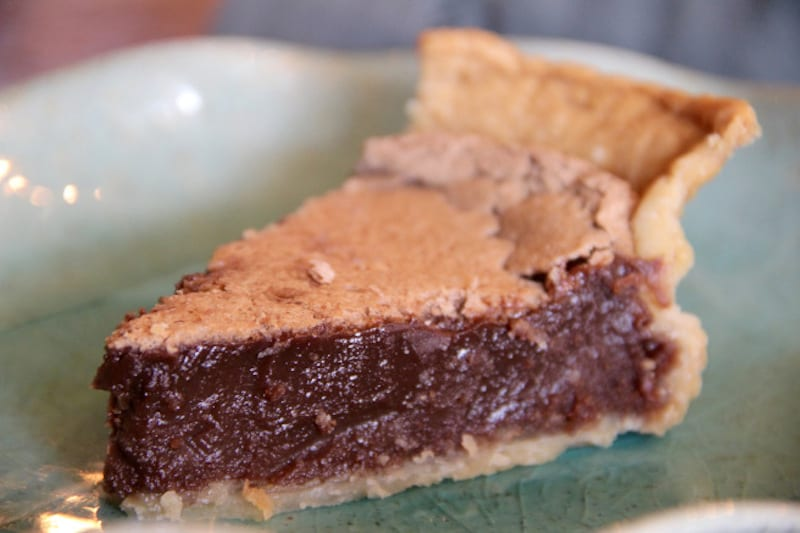 Decadent Chocolate Chess Pie