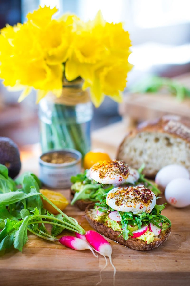 Avocado and Egg Zaatar Toast