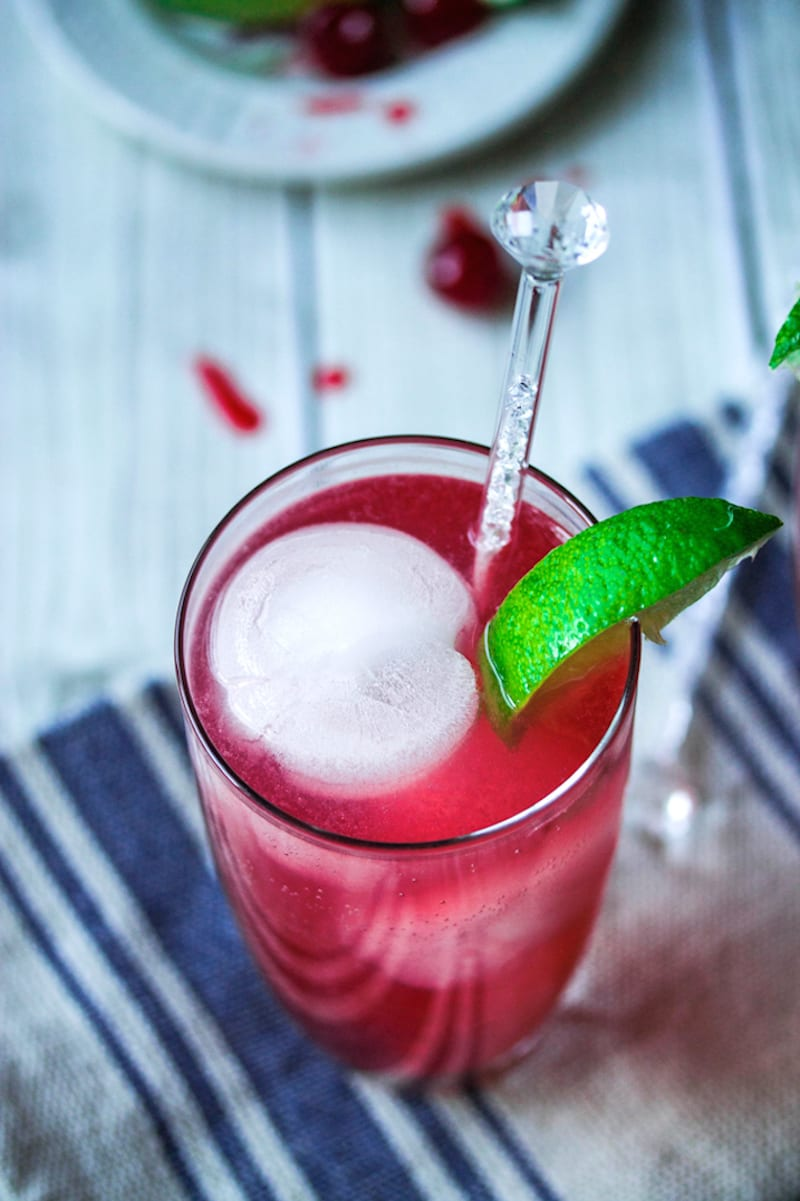 Cherry Lime Fizz