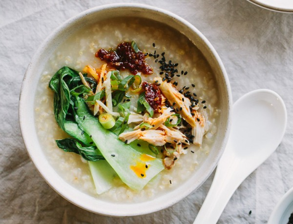 Ginger-chicken-brown-rice-congee-6