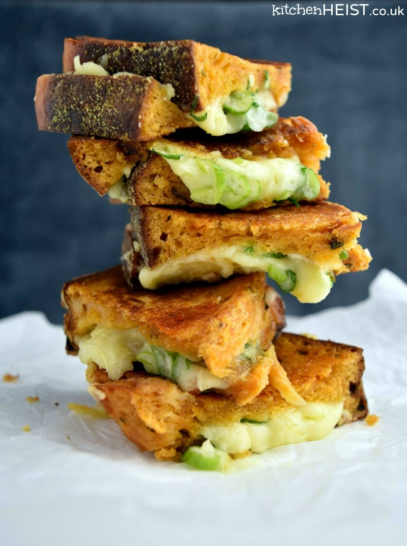 Grilled Cheese Stack WM