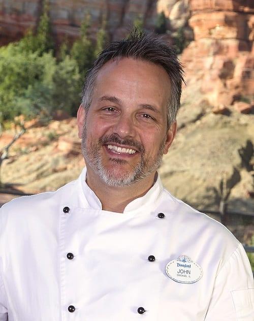 John State, Executive Chef, Food &Beverage at the Disneyland Resort