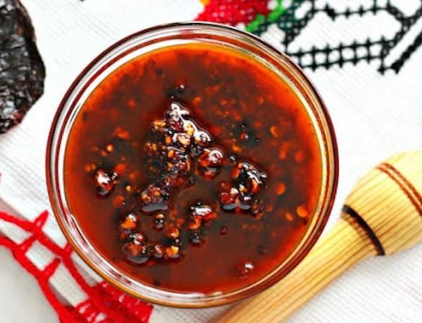 Red Chile Morita Salsa