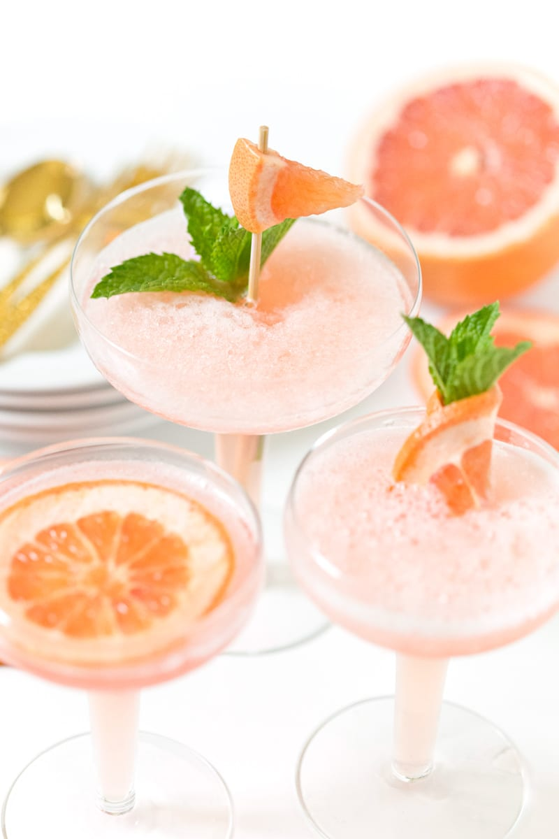 Pretty Pink Alcoholic Drinks