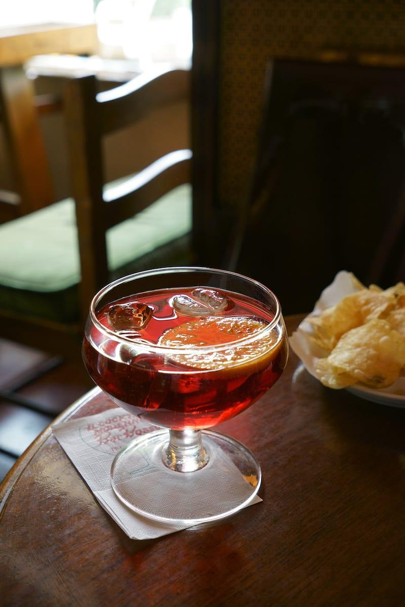 aperitivo italy drinks northern milan negroni sbagliato