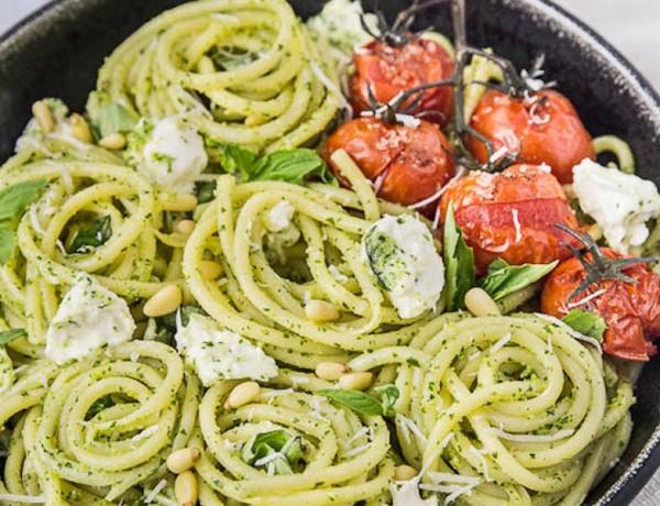 Arugula-Pesto-Pasta-with-Blistered-Tomatoes-Burrata-83
