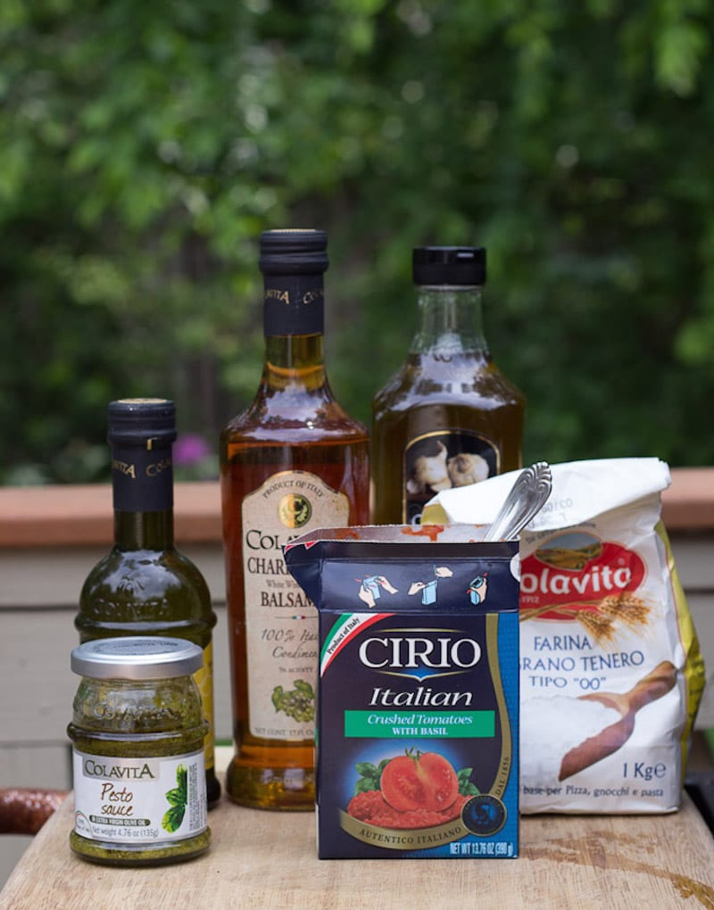 Grill Like an Italian with Colavita: Pizza on the Barbecue