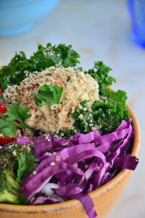 Hemp Heart Salad