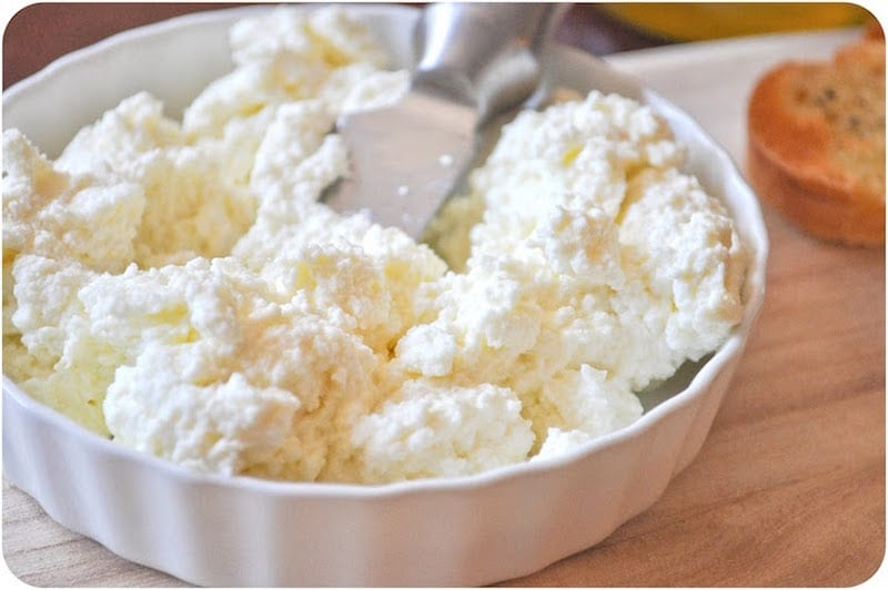 Why buy ricotta cheese when you can make your own? Homemade ricotta is ...