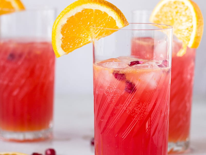 Non Alcoholic Pomegranate Cocktail Recipe — Dishmaps