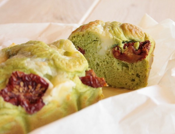 SAVORY CAKE WITH PEAS AND SUN DRIED TOMATOES -PH. G. GIUSTOLISI