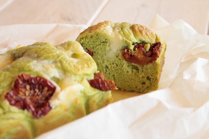 Savory Pea Cakes with Sun-Dried Tomatoes