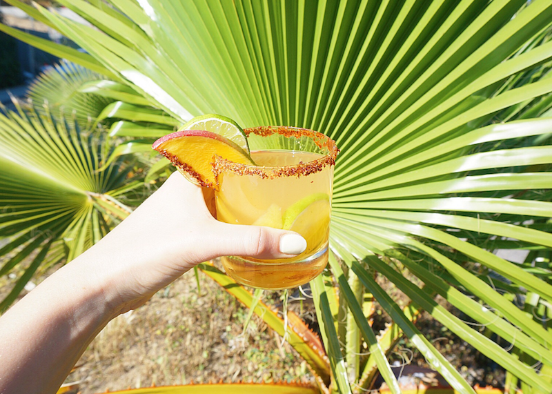 Tropical Spiced Mango Cocktail