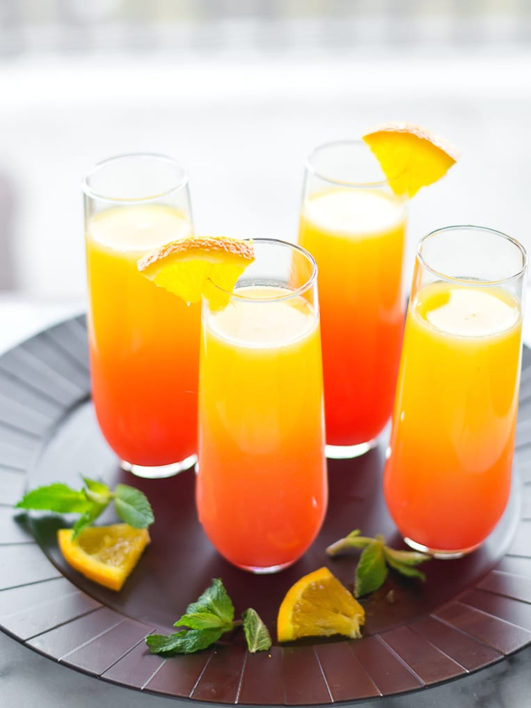 Sparkling tequila sunrise for Best tequila for tequila sunrise