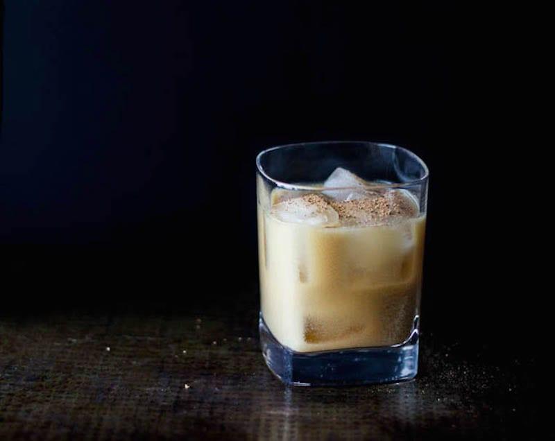 Almond Milk Bourbon Punch