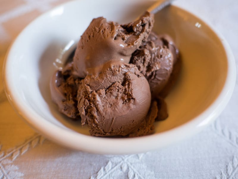 homemade chocolate ice cream chocolate 12471