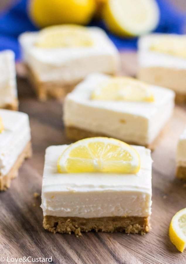 Lemon Cheesecake Bars