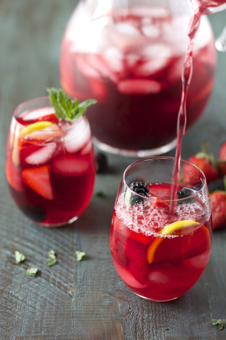 Passion fruit iced tea for Easy fruit tea recipe