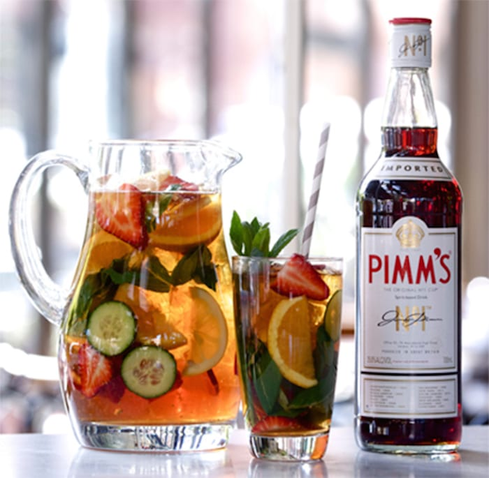 Boozy punch bowls for memorial day honest cooking for What to mix with pimms