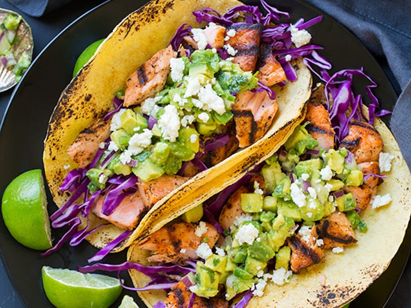 5 fun new fish tacos honest cooking for Cabbage slaw for fish tacos