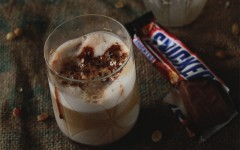 snickers-latte-empty-glass