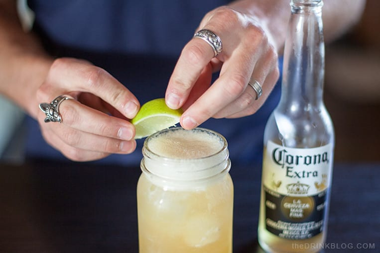 Corona Whiskey Sour
