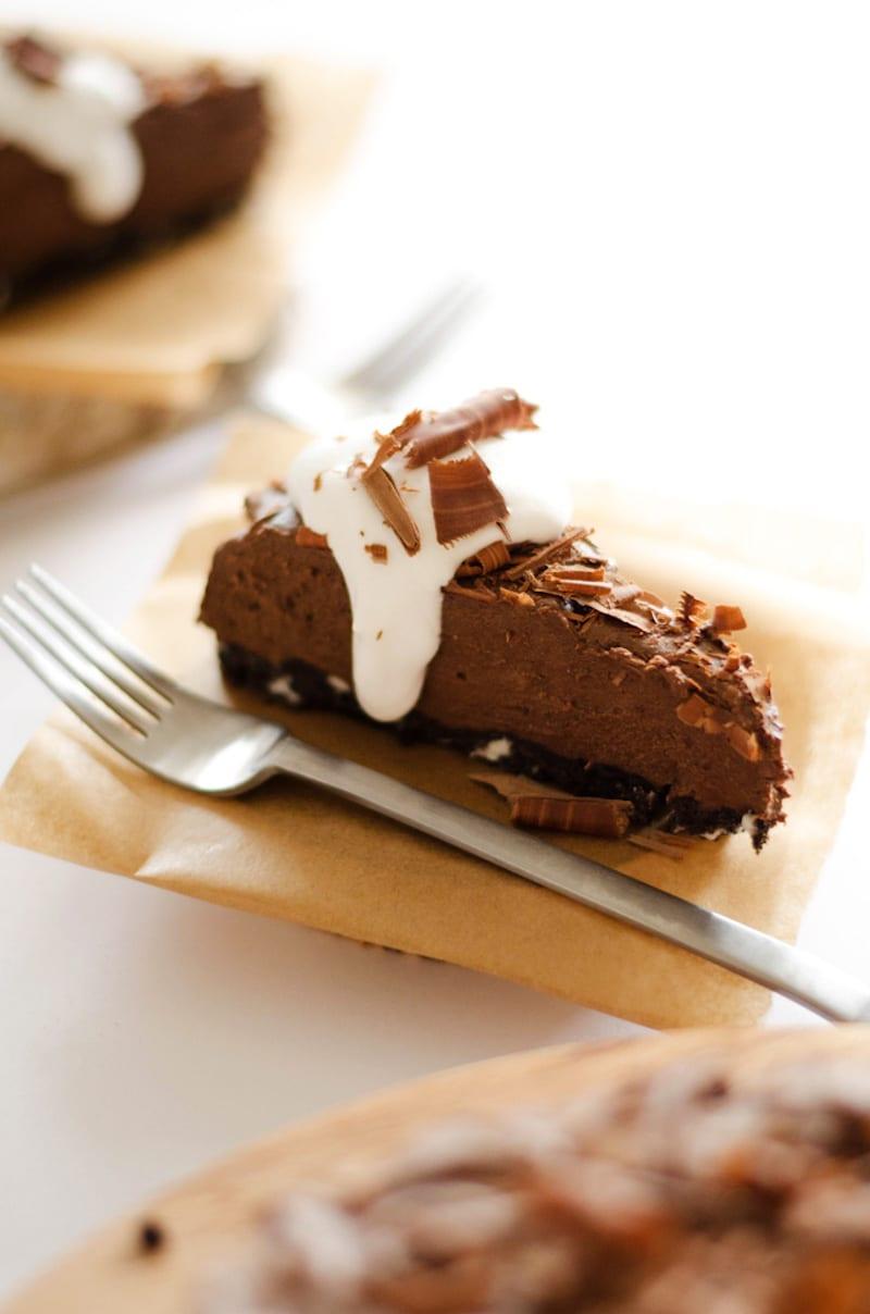 Chocolate Avocado Pie – Honest Cooking