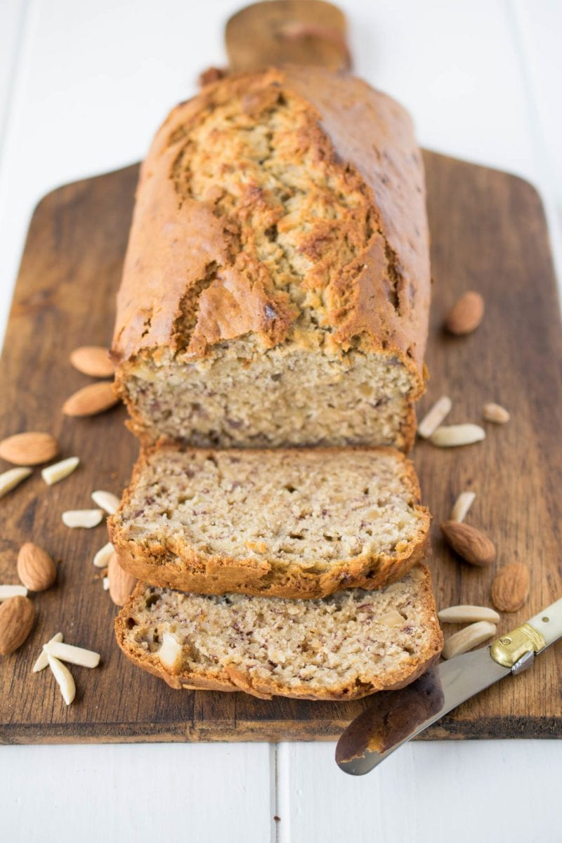 Squishy Banana Bread : Soft Almond Banana Bread ? Honest Cooking