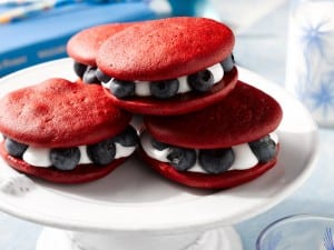 Blueberry Whoopie Pies