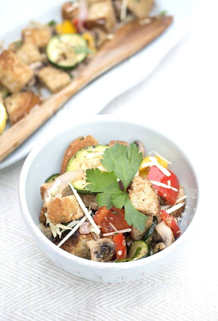 This recipe is very simple to make. Grilled Vegetable Panzanella Salad ...