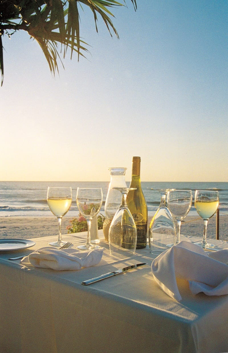 Dining on the Gulf
